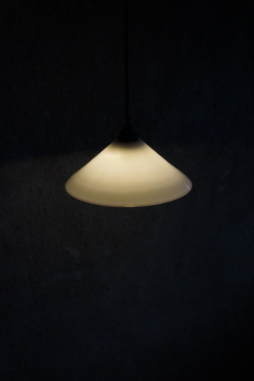 Japan white glass shade