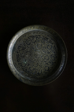 SOLD >arabesque small plate
